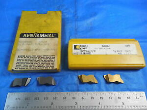 2pcs New Kennametal Ng 3062 Lk Kc 850 1pc Ng 3088 L K420 1pc Ntf 3 R Inserts