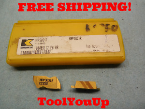 2pcs New Kennametal Nrp 3031 R Kc 850 Top Notch Grooving Carbide Inserts Cnc