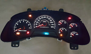 Chevy Trailblazer Instrument Gauge Cluster Speedometer Reman Rebuilt 2006 2009