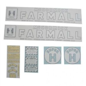 Vinyl Decal Set International Super H