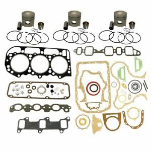 1109 d201 Made To Fit Ford New Holland Engine Base Kit 201 Eng 4000 4600 4610