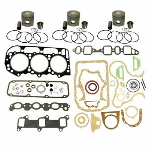 1109 d201 Ford New Holland Parts Engine Base Kit 201 Eng 4000 4600 4610 4630