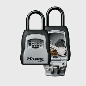 Master Lock 3 1 4 W Set Your Own Combination Portable Lock Box Travel 5400d New
