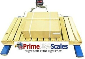 Optima Scale Heavy Duty Weigh 48 By 4 inch Beam Floor Scale 5000 pound