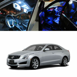 8 light Smd Full Led Interior Lights Package Deal For 2013 And Up Cadillac Ats