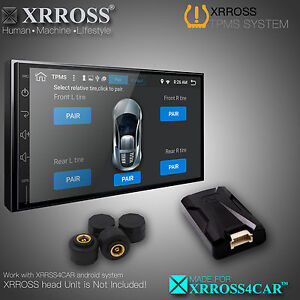Xrross Wireless Tpms Tire Pressure Monitoring System External Sensors Android