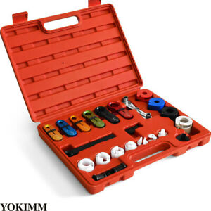 22pcs A C And Fuel Line Disconnect Tool Set For Ford Gm American