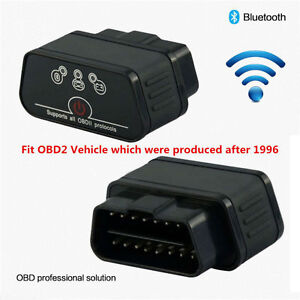 Kw903 Bluetooth Odb2 Obdii Car Auto Fault Diagnostic Scanner Tool Android