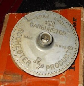 Nos 1956 Oldsmobile 2 Barrel Choke Stat Cover Coil