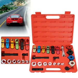 22pc Deluxe A c Transmission Fuel Line Disconnect Tool Set Tubing Disassembler