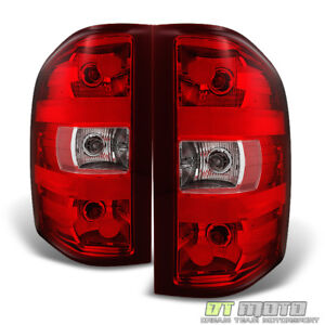 2007 2013 Chevy Silverado 1500 2500hd 3500hd Tail Lights 07 13 Replacement Lamps