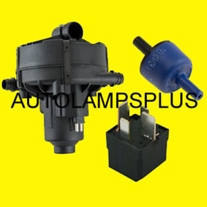 Mercedes Secondary Air Injection Smog Air Pump Check Valve Relay Quality New