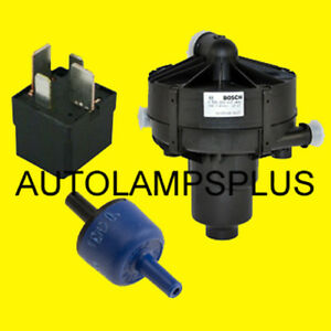 Mercedes Secondary Air Injection Smog Air Pump Check Valve Relay Oem Brand New