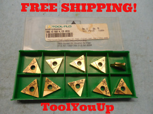 10pcs New Toolflo Tpma 43 Ngr W 125 Gp 50 Inserts Tooling Machine Shop Tools M