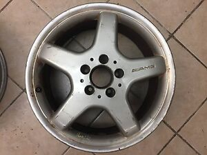 1 Used 17 X 7 5 Mercedes Clk Slk Amg Front Wheel Hollander 65270 And 65257