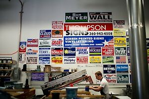 10 Full Color Yard Signs 24 X 18 In Printed On Both Sides