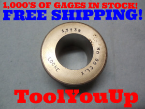 1 3739 Class X Smooth Bore Ring Gage 1 375 0 0011 Undersize 1 3 8 Inspection