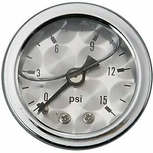 Russell Fuel Pressure Gauge Gas New 650390