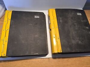 Atlas Copco Roc L6h Hydraulic Track Drill Parts Manual Catalog 2 Volume Set