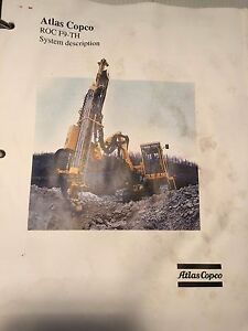 Atlas Copco Roc F9 th Hydraulic Track Drill Training Operation Manual
