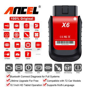Bluetooth Obdii Scanner Abs Srs Oil Epb Dpf Bms Tpms Tps Diagnostic For Android