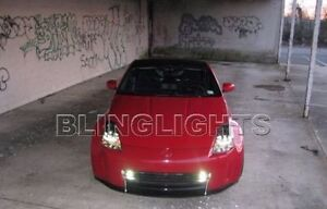 Hella 6000k Xenon Halogen Performance Driving Lamp Kit For Nissan 350z Grille