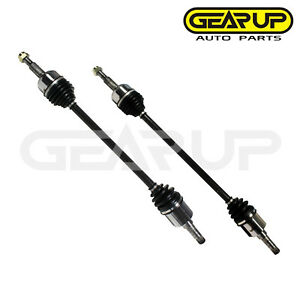 Pair Front Cv Joint Axle Assembly Lh Rh For Chevy Equinox Ls Lt 3 4l 6 Cyl 05 06