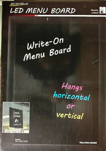 Mystiglo In light Led Menu Board Sign
