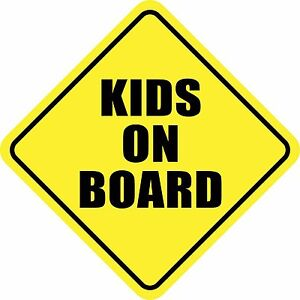 Kids On Board Sticker Decal Baby Sign Made In Usa Buy 2 Get 3rd Free