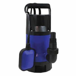 1 2hp Swimming Pool Flood Pond Submersible Dirty Clean Water Pump 2000gph Home