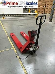 5 000 X 1 Lb Pallet Jack Scale Heavy Duty