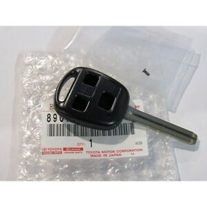 98 00 Oem New Lexus Lx470 3 Button Key Fob Empty Shell Long Blade 1998 1999