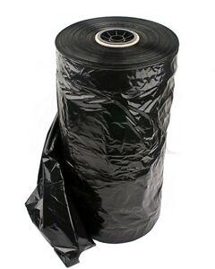 Black Plastic Garment Bags On A Roll 72 h Super Weight