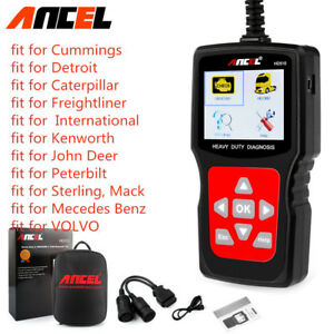 Heavy Duty Truck Diesel Code Reader Engine Check Obd2 Car Diagnostic Scan Tool