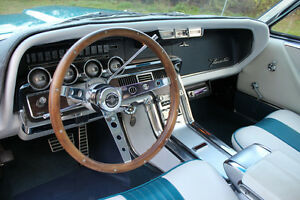 Thunderbird T bird Fairlane Galaxie Mustang Falcon Ranchero Wood Steering Wheel