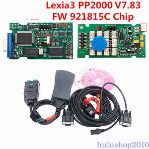 For Citroen Peugeot Diagnostic Tool Scanner Pp2000 Lexia3 Diagbox V7 65 W Chip