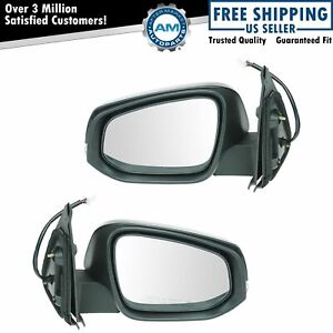 Exterior Mirror Pair Lh Rh Sides Power Heated Turn Signal For Toyota Tacoma