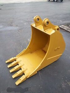 New 24 Caterpillar 307d Cr Excavator Bucket With Pins
