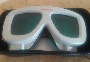 Uvex Honeywell Ls645 Laser Safety Glasses Goggles 32 Green Lens