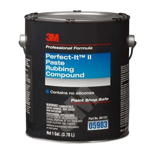3m 05983 Perfect it Ii Rubbing Compound 1 Gal