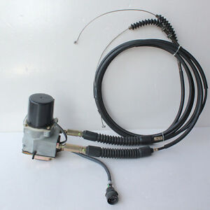 Throttle Motor For Caterpillar 312 312b 311b Excavator With Double Cable 5 Pins