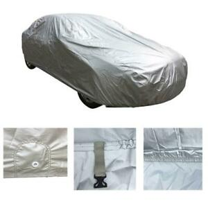 Car Auto Cover Waterproof Outdoor Snow Dust Rain Sunlight Protection 170d Silver