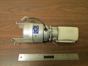 Eastern Air Devices Synchronous Hystersis Motor 1 30hp 1800 Rpm With Gearbox