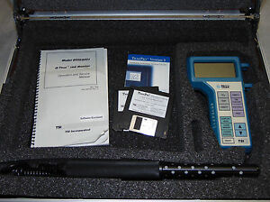 Tsi Q trak 8550 Air Quality Tester Co2 Temp Humidity