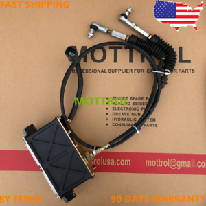 Fit For Caterpillar Cat E320b E312b E311b 6 Pins Double Cables Throttle Motor