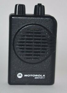 Motorola Minitor V Low Band 33 36 9mhz 2 Chl Sv Pager W Chgr A01kms9239bc