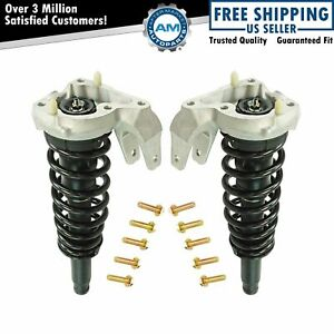 Loaded Quick Complete Strut Spring Mount Assembly Pair 2pc Front New Awd