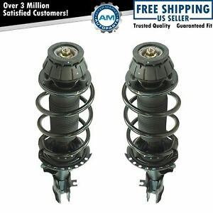 Loaded Quick Complete Strut Spring Mount Assembly Lh Rh Pair 2pc Front New