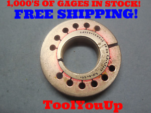 1 8024 14 Ns 3 Thread Ring Gage No Go Only P d 1 7498 Inspection Tool