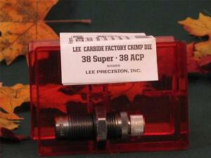 90866 Lee Carbide Factory Crimp Die 38 Super  38 ACP
